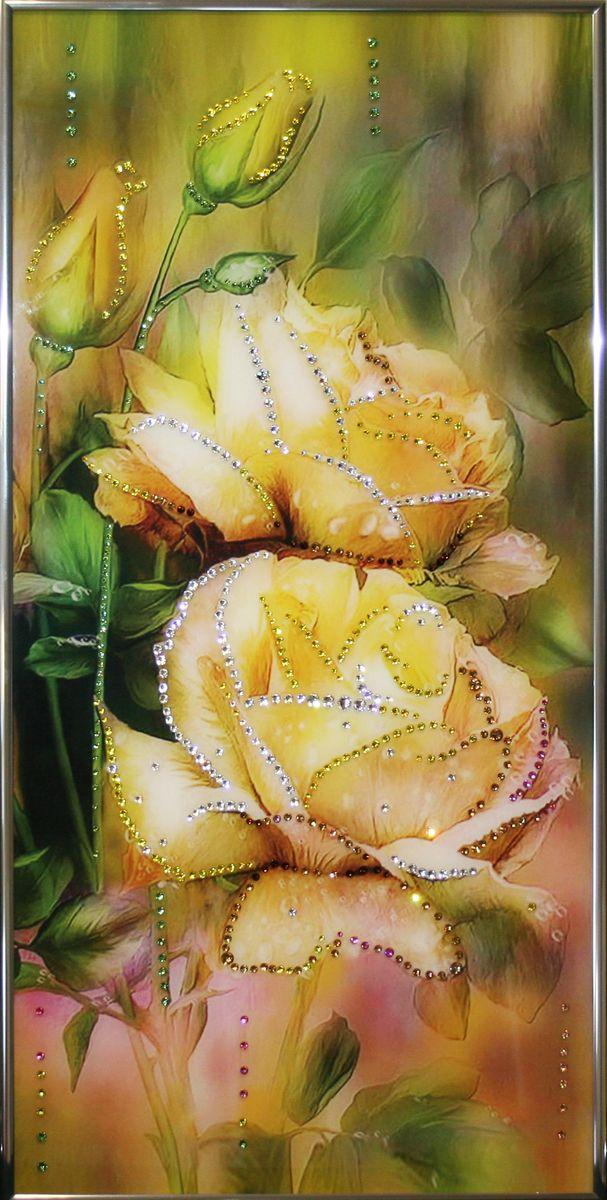 1489 Картина Сваровски Вера1489стекло, хрусталь, пластик. 30х60
