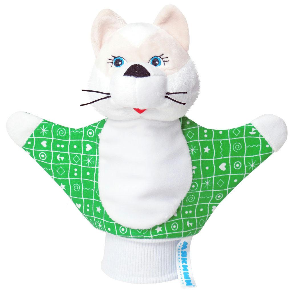 Мягкая игрушка на руку Котенок , 22 см в ассортименте, Мякиши, Кукольный театр  - купить со скидкой