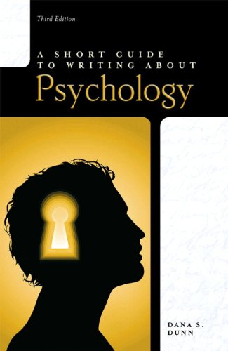 A Short Guide to Writing About Psychology stewart a kodansha s hiragana workbook a step by step approach to basic japanese writing