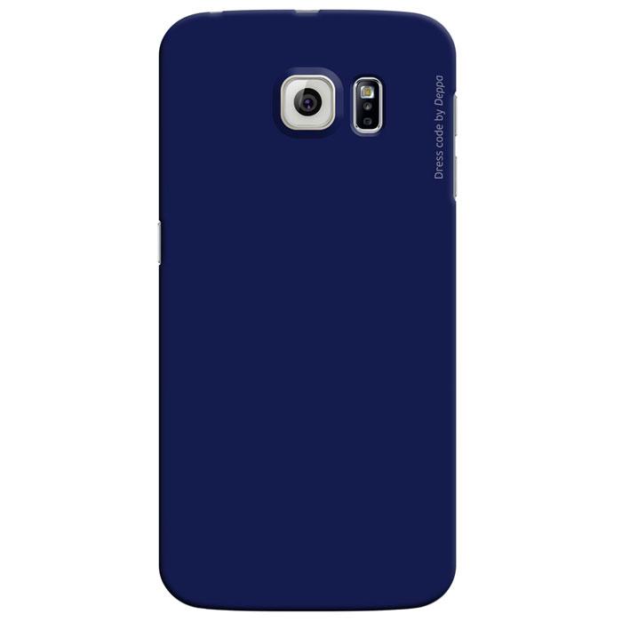 Deppa Air Case чехол для Samsung Galaxy S6 Edge, Blue аксессуар чехол samsung galaxy j5 prime g570 celly air case black air640bk