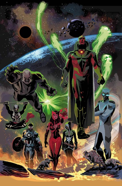 Uncanny Avengers Vol. 1 uncanny avengers volume 1 counter evolutionary