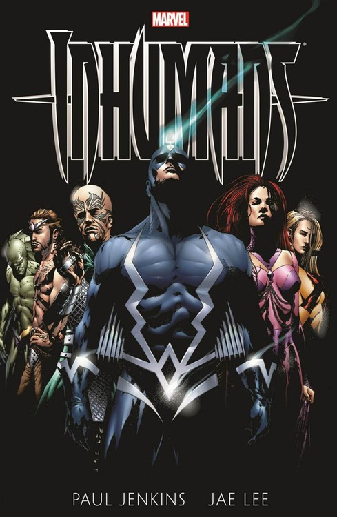 Inhumans by Paul Jenkins & Jae Lee купить