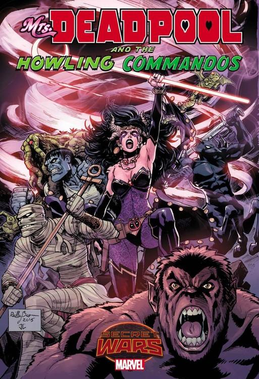 Mrs. Deadpool and the Howling Commandos creature commandos