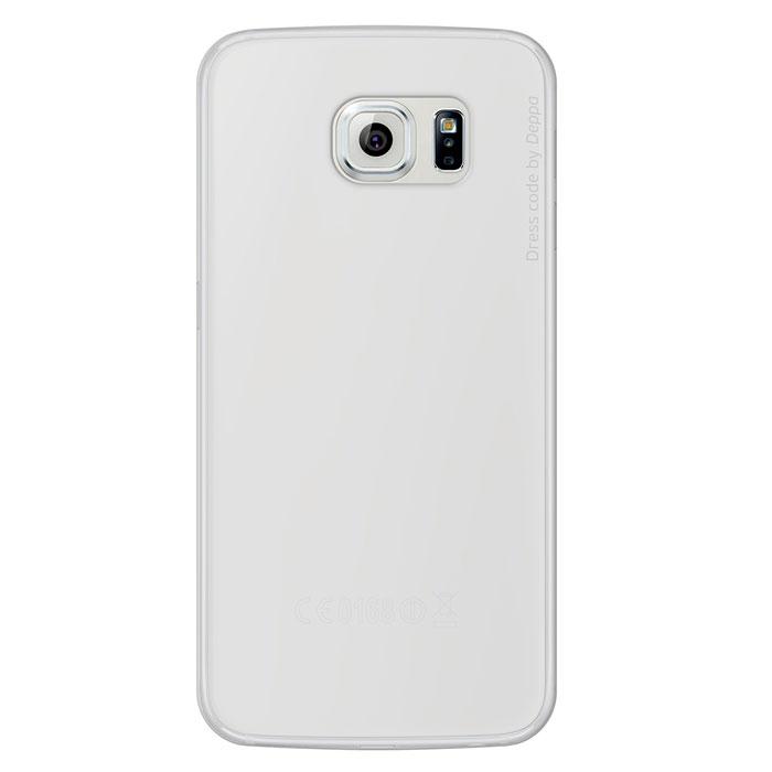 Deppa Sky Case чехол для Samsung Galaxy S6, Clear86035Чехол Deppa Sky Case для Samsung Galaxy S6 предназначен для защиты корпуса смартфона от механических повреждений и царапин в процессе эксплуатации. Имеется свободный доступ ко всем разъемам и кнопкам устройства. Чехол изготовлен из полипропилена и имеет толщину 0,4 мм.