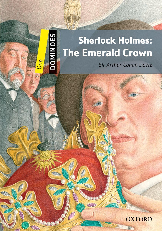 DOMINOES 1 SHERL.HOLMES:EMERALD CROWN NE dominoes 1 blue diamond ne