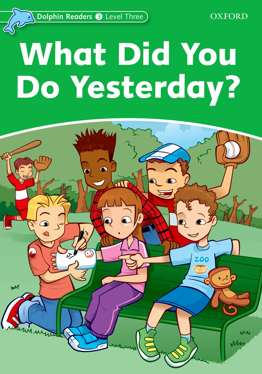 DOLPHINS 3:WHAT DID YOU DO YESTERDAY? what did you eat yesterday volume 3