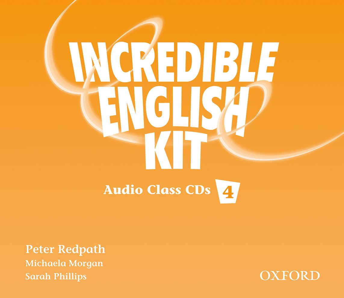 INCREDIBLE ENGLISHLISH 4 CL CD(3) incredible englishlish 1 cl cd 2