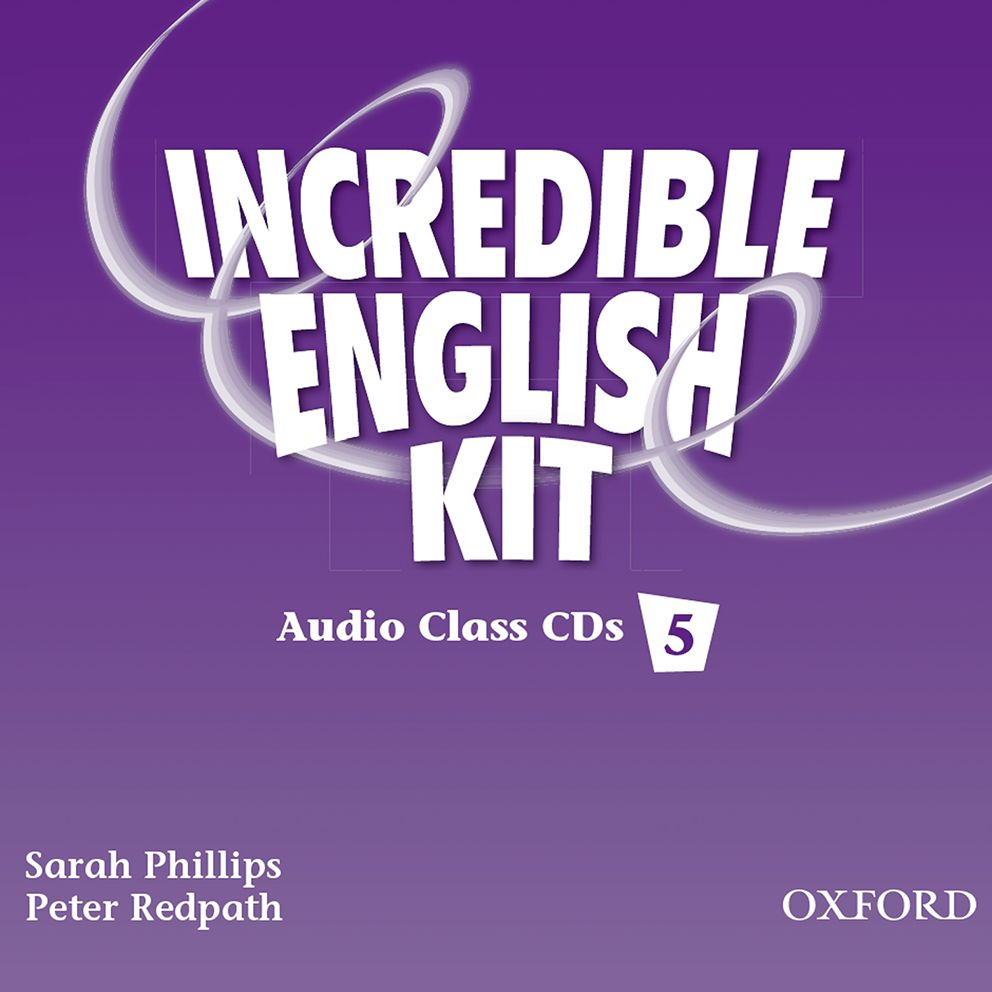 INCREDIBLE ENGLISHLISH 5 CL CD(3) incredible englishlish 1 cl cd 2