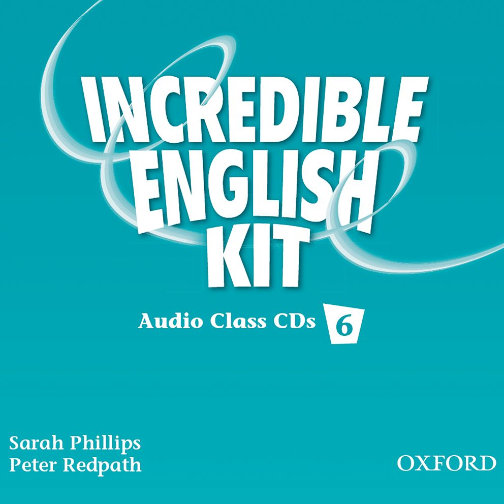 INCREDIBLE ENGLISHLISH 6 CL CD(3) incredible englishlish 1 cl cd 2