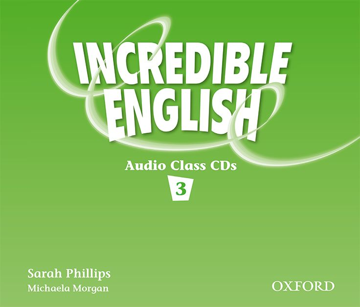 INCREDIBLE ENGLISHLISH 3 CL CD(3) incredible englishlish 1 cl cd 2