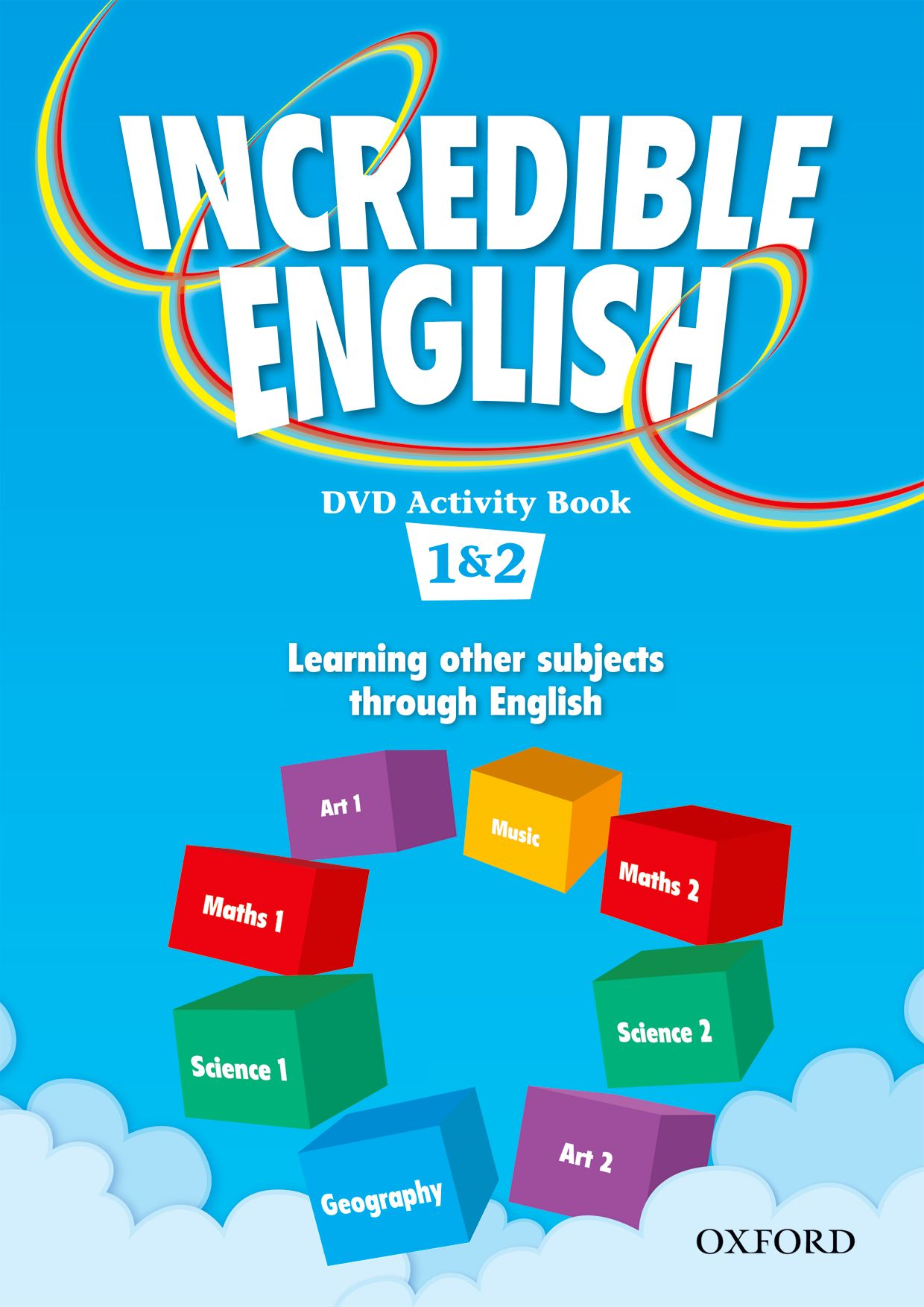 INCREDIBLE ENGLISHLISH 1&2 DVD AB incredible englishlish 1 cl cd 2