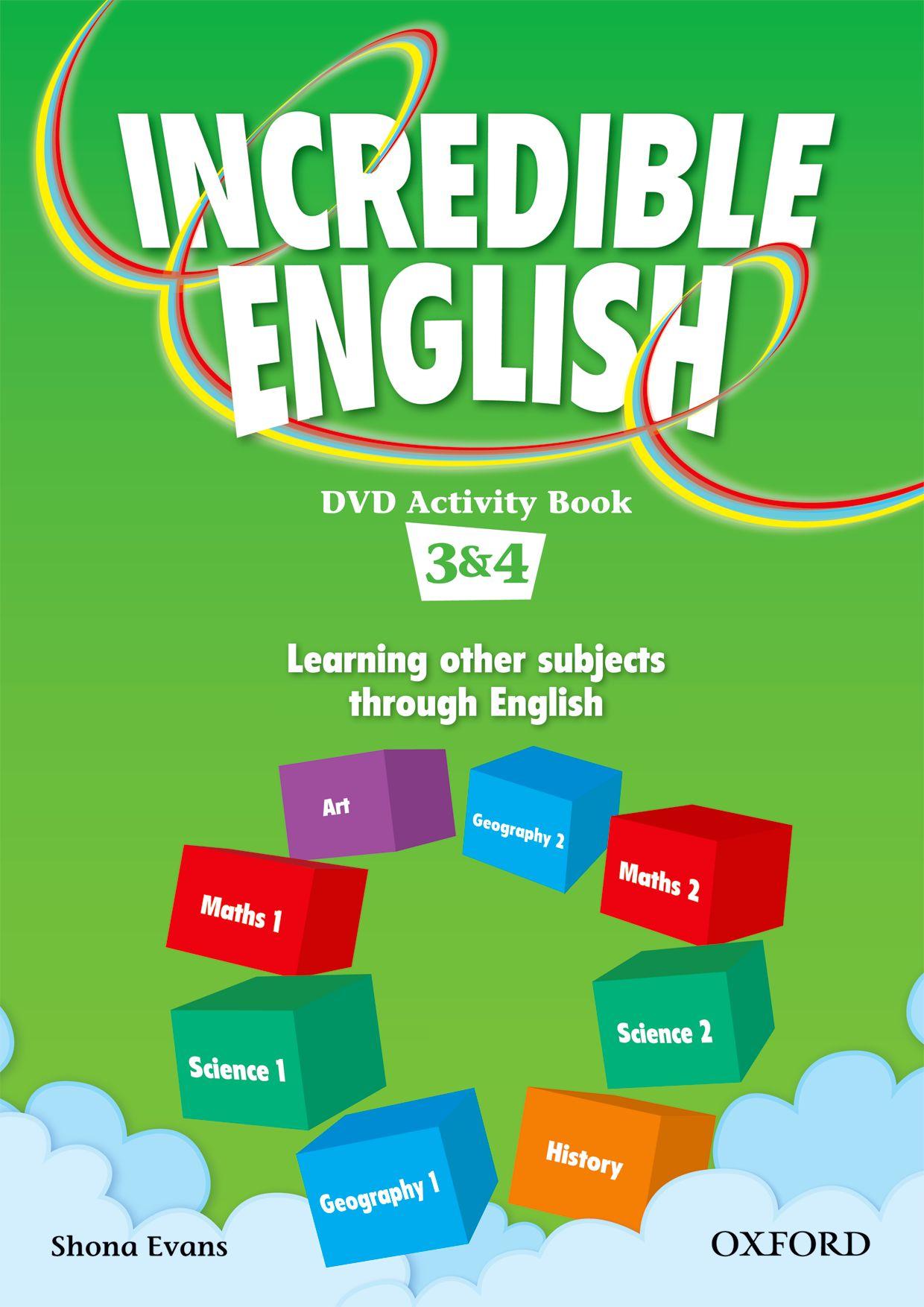 INCREDIBLE ENGLISHLISH 3&4 DVD AB incredible englishlish 2e 6 ab