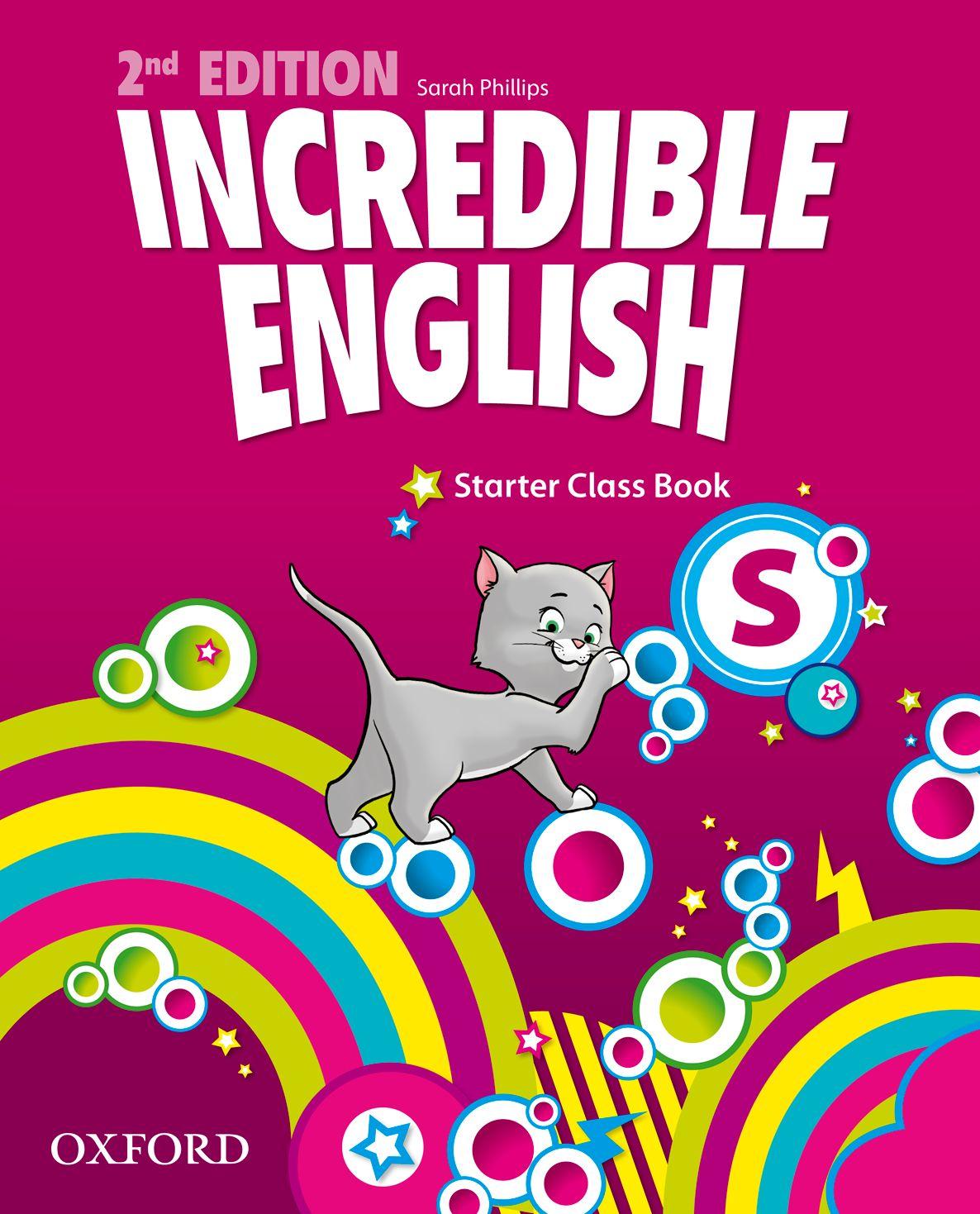 INCREDIBLE ENGLISHLISH 2E STARTER CB incredible englishlish 2e 6 ab