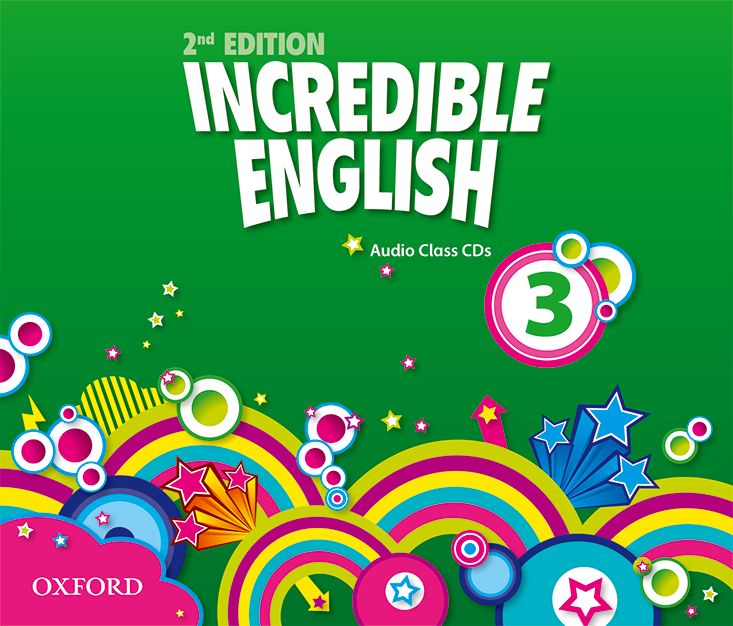 INCREDIBLE ENGLISHLISH 2E 3 CL CD incredible englishlish 1 cl cd 2