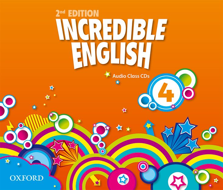 INCREDIBLE ENGLISHLISH 2E 4 CL CD incredible englishlish 1 cl cd 2