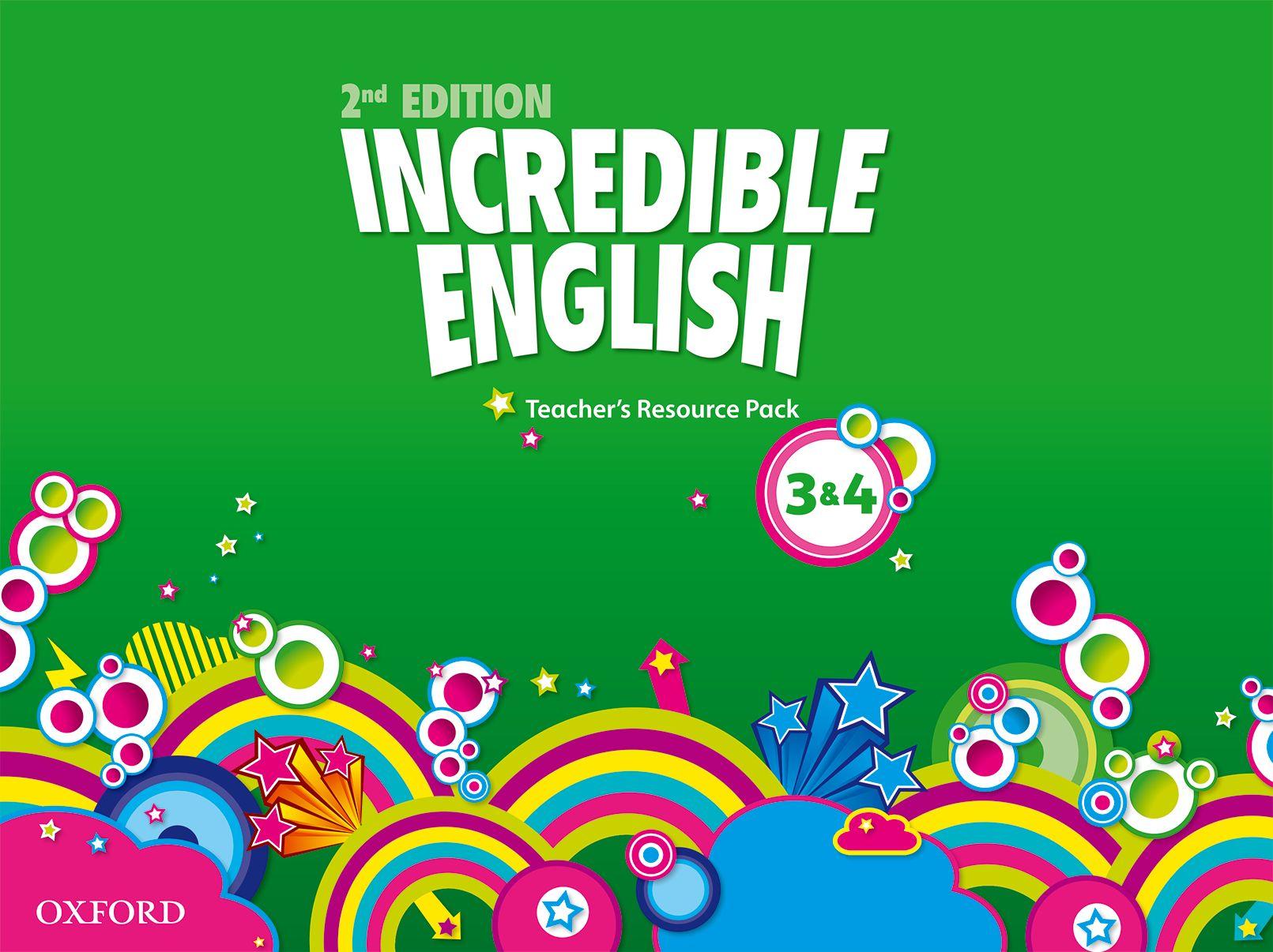 INCREDIBLE ENGLISHLISH 2E 3-4 TRP incredible englishlish 2e 6 ab