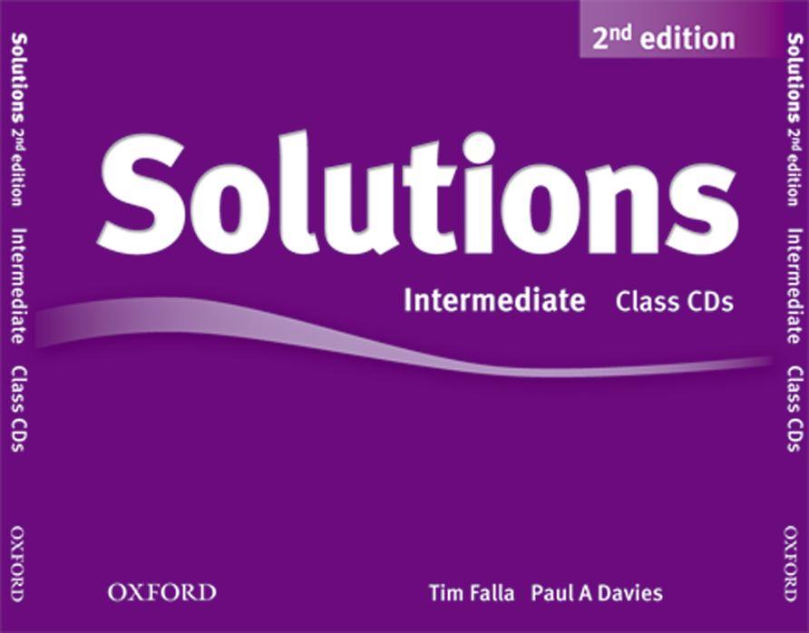 SOLUTIONS 2ED INT CL CD (3) solutions 2ed elem cl cd 3