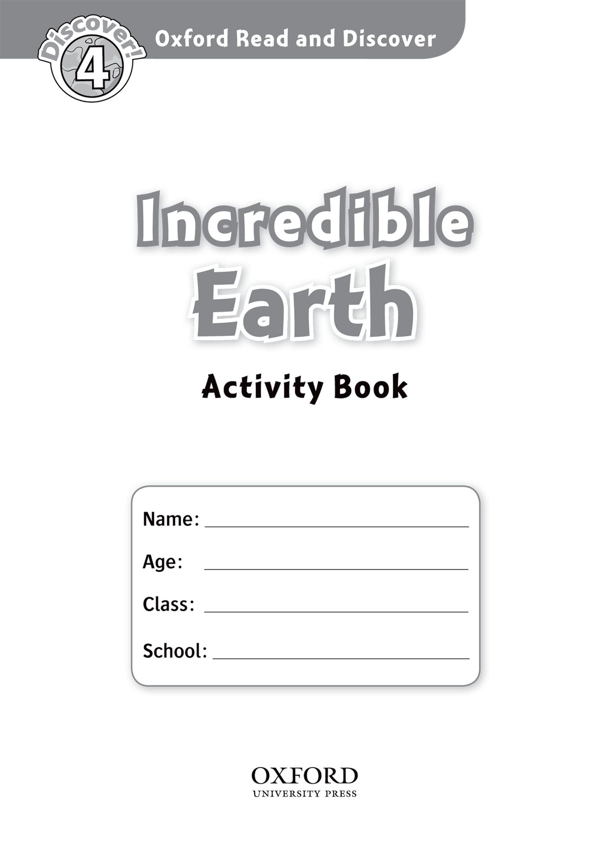 Read and discover 4 INCREDIBLE EARTH AB read and discover 4 incredible earth