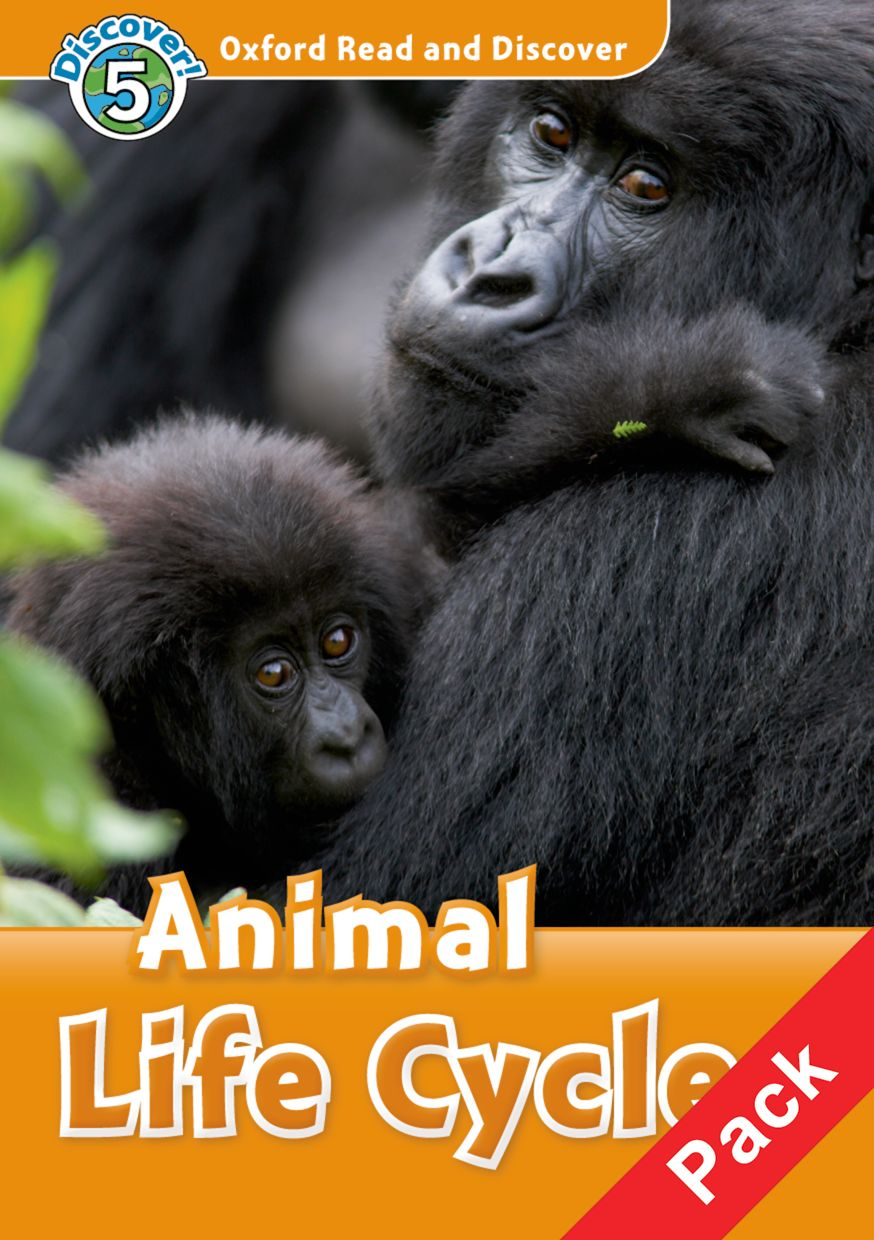 Read and discover 5 ANIMAL LIFE CYCLES  PACK торшер markslojd conrad 106324