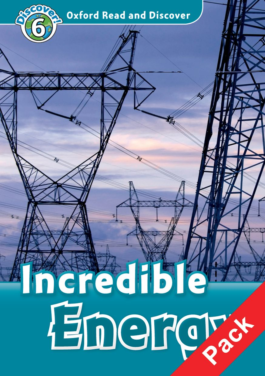 Read and discover 6 INCREDIBLE ENERGY  PACK read and discover 4 incredible earth