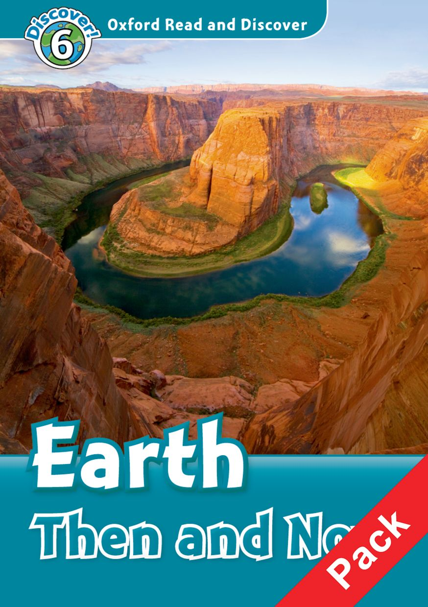 Read and discover 6 EARTH THEN & NOW  PACK read and discover 4 incredible earth