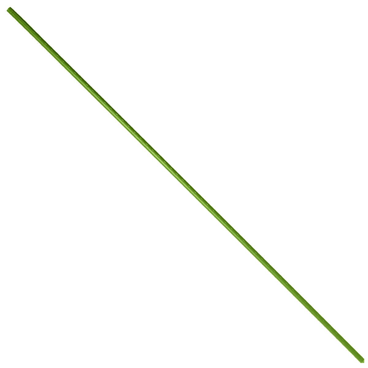 Опора для растений Green Apple, цвет: зеленый, диаметр 0,8 см, длина 75 см, 5 шт комплект для вьющихся растений сборный green apple glscl