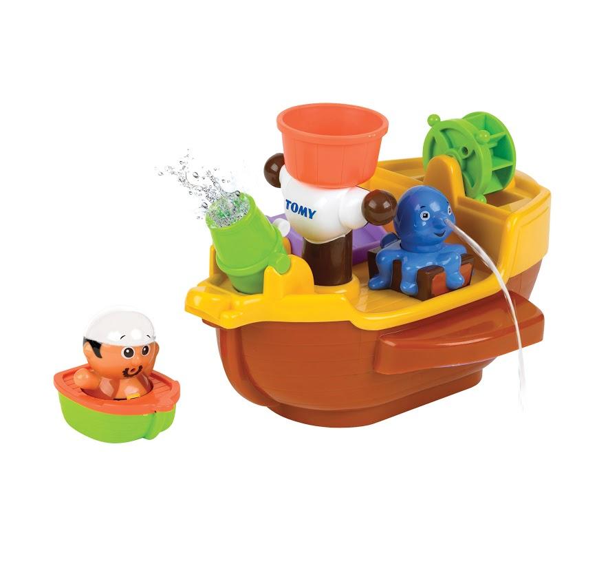 Tomy Развивающая игрушка для ванной Пиратский корабль игровой набор для ванны tomy пиратский корабль