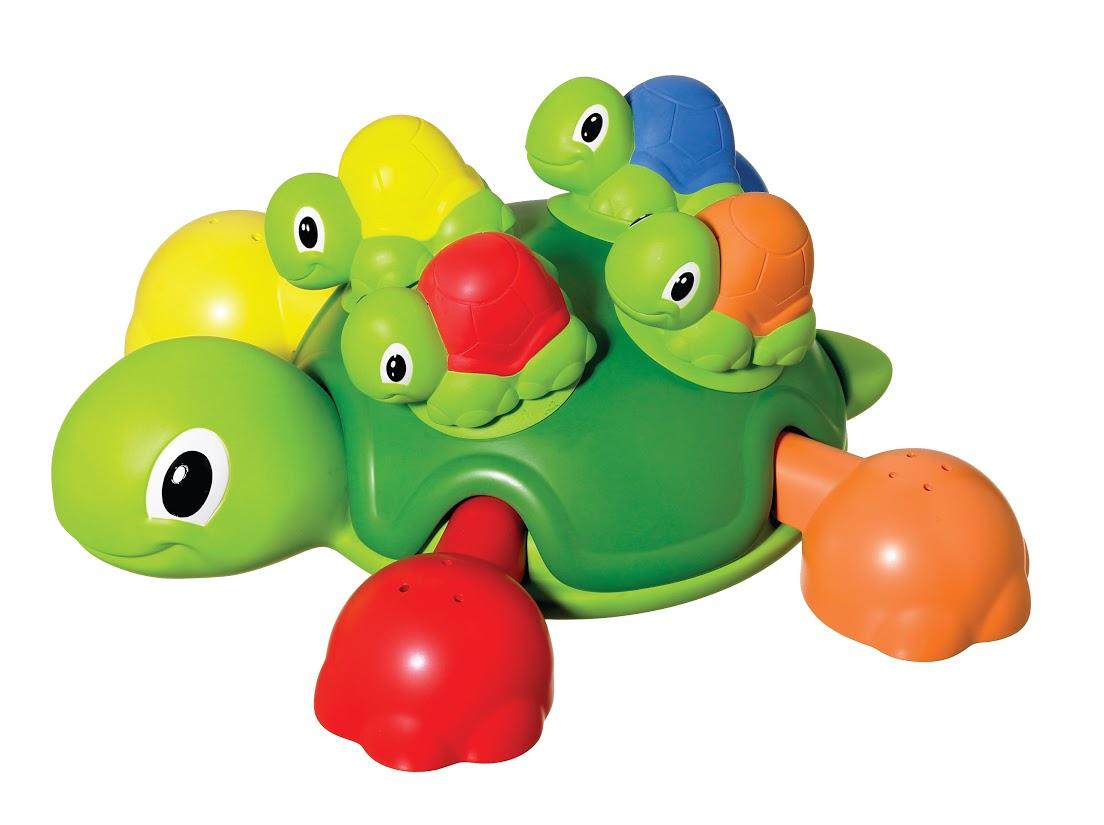 Tomy Игрушка для ванной Веселые черепашки игровые наборы tomy britains big farm фермерский прицеп со свинками