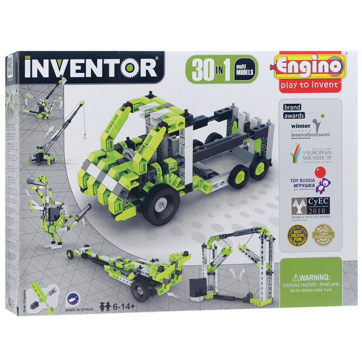 Конструктор Engino Inventor, 30 в 1, 120 элементов solar power машины engino