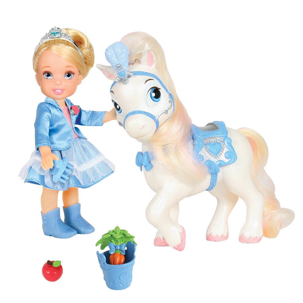 Disney Princess Игровой набор с мини-куклой Золушка и Пони игровые наборы disney princess игровой набор моана в ассортименте