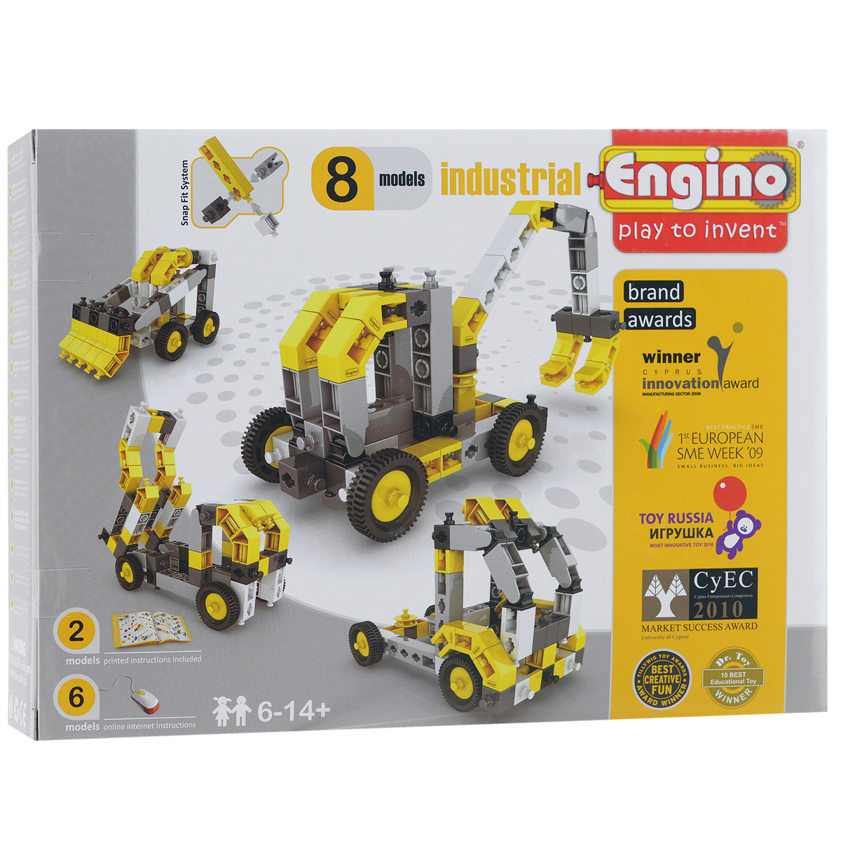Engino Конструктор Industrial 8 models