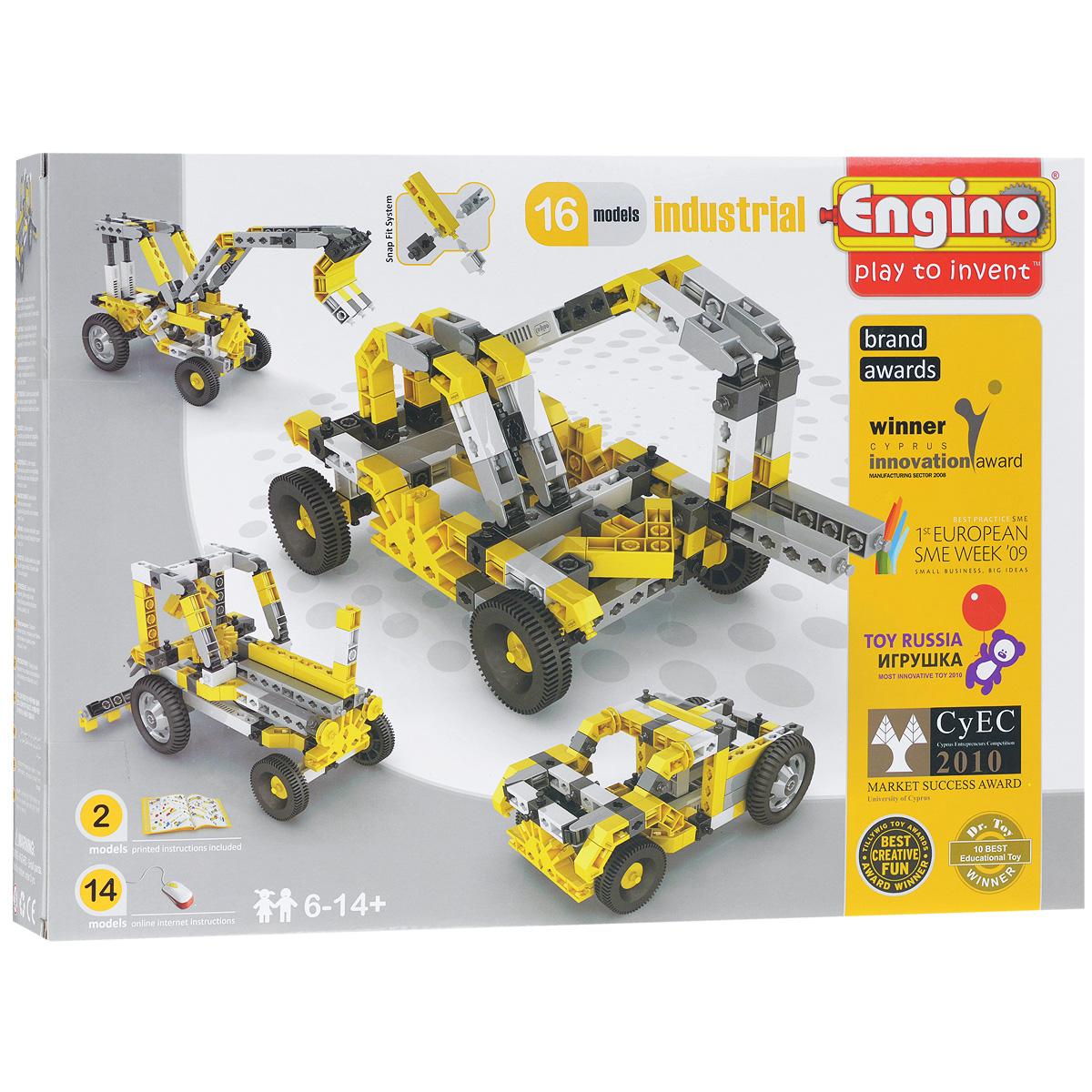 Engino Конструктор Industrial 16 models