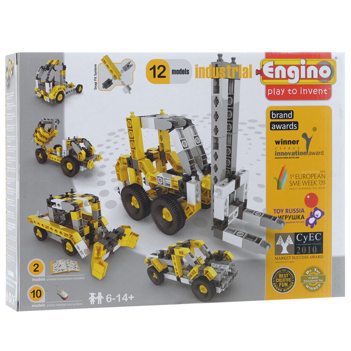 Engino Конструктор Industrial engino конструктор inventor приключения 170 элементов