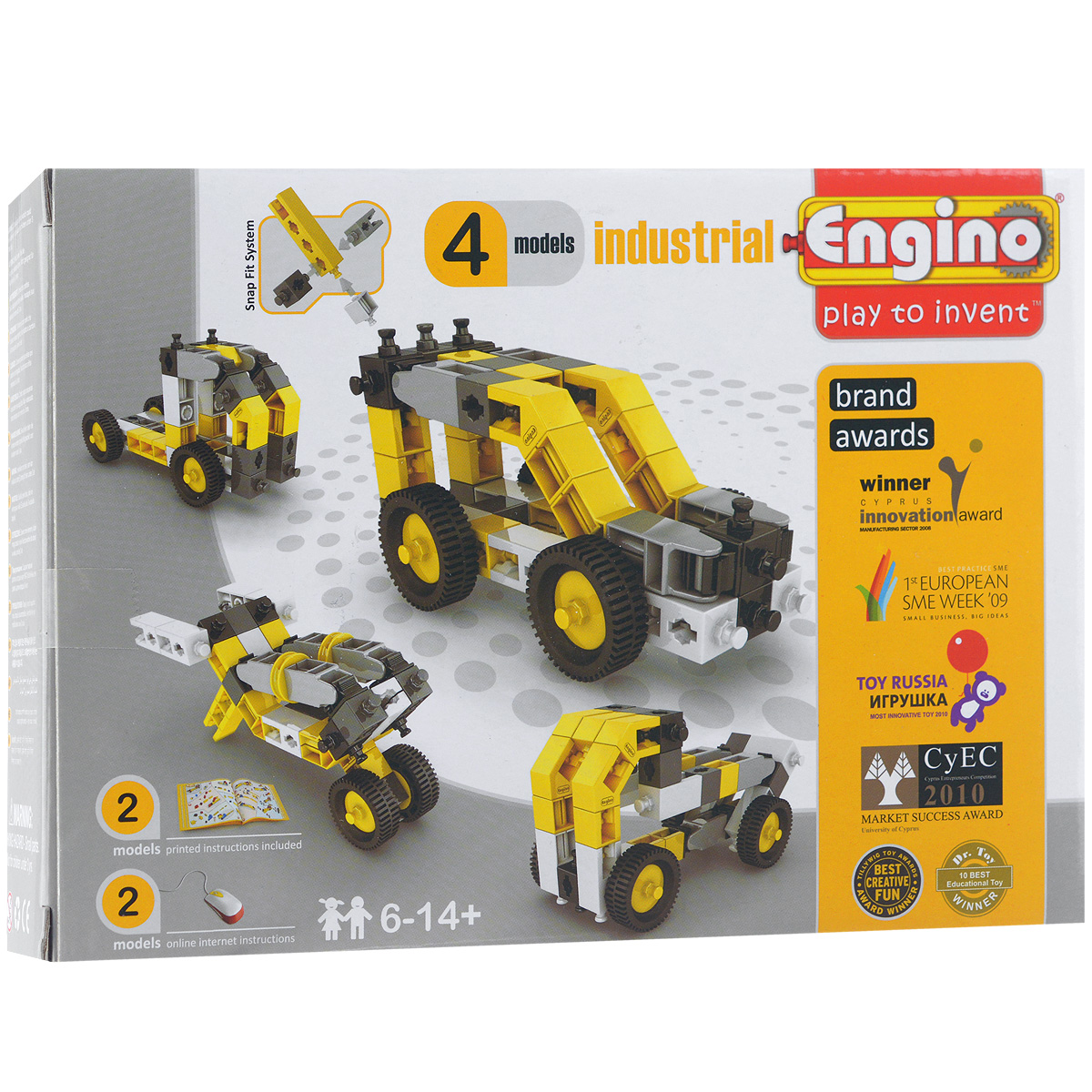 Engino Конструктор Engino Industrial 4 models