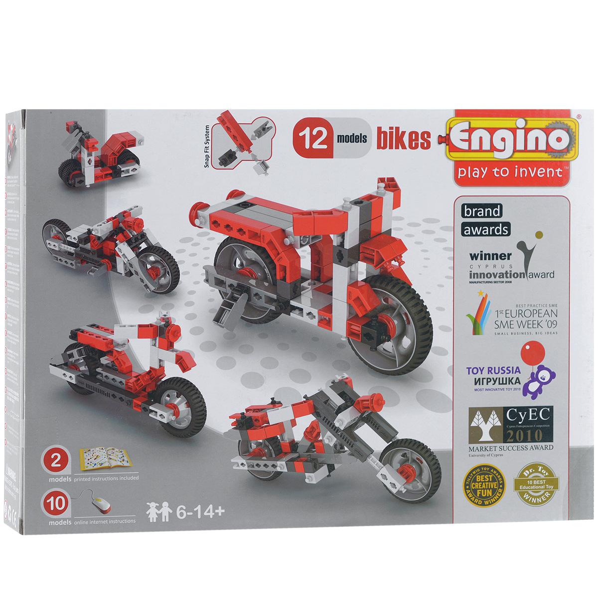 Engino Конструктор Bikes PB32 engino конструктор inventor приключения 170 элементов