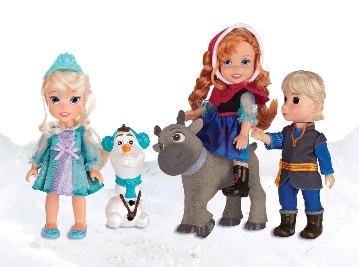 Disney Princess Игровой набор с мини-куклами Холодное cердце игровые наборы disney princess игровой набор моана в ассортименте