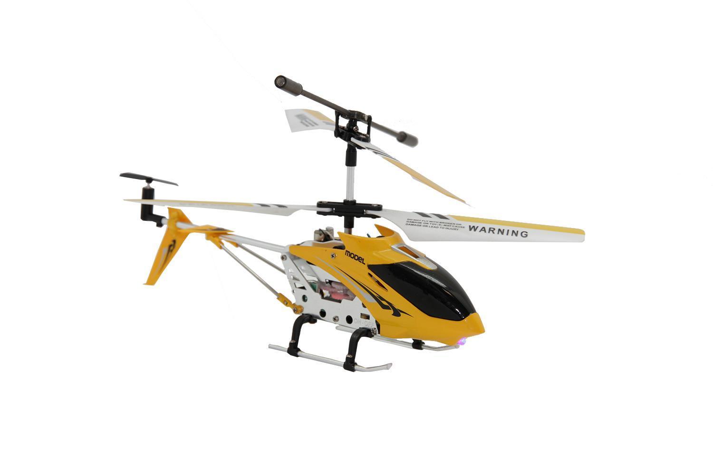 Вертолет на инфракрасном управлении BALBI IRH-022-D, с гироскопом, со световыми эффектами, цвет: желтый