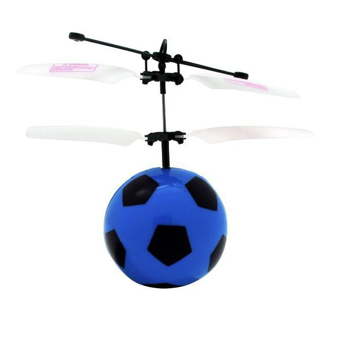 Balbi Минифлаер на радиоуправлении Футбольный мяч цвет черный