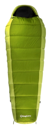 Мешок спальный KingCamp Desert 250 KS 3104, левосторонняя молния, цвет: зеленый, 215 см х 80 смУТ-000050412Спальник-кокон KingCamp Desert 250 KS 3104 - незаменимая вещь для любителей уюта и комфорта во время активного отдыха. Спальный мешок закрывается на двустороннюю застежку-молнию. Этот теплый спальный мешок-кокон спасет вас от холода во время туристического похода, поездки на рыбалку.Спальный мешок упакован в удобный нейлоновый чехол для переноски.Наполнитель: WarmLoft (Hollowfibre), 250 г/м2.Внешний материал: нейлон 210T нейлон Ripstop, легкий, износостойкий.Внутренний материал: полиэстер 65%, хлопок 35%.Что взять с собой в поход?. Статья OZON Гид