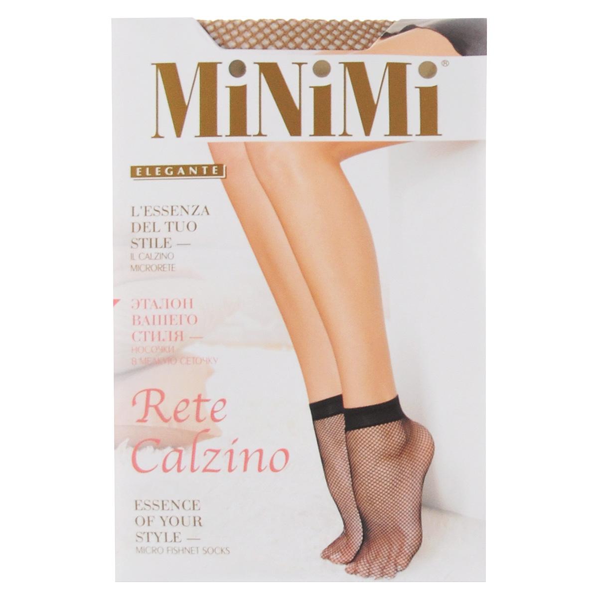 Носки женские Minimi Rete Calzino, цвет:  Daino (загар).  Размер универсальный Minimi