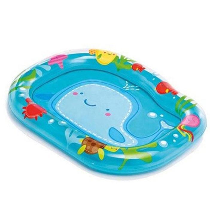 """Бассейн надувной Intex """"Маленький кит"""", 112 см х 84 см х 13 см"""
