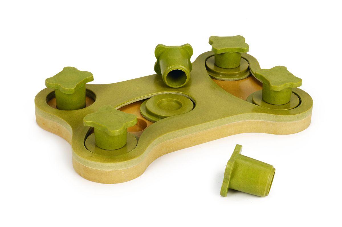 Игрушка-головоломка для собак I.P.T.S. Smarty, 30 см х 19 см х 2,5 см игрушка головоломка для собак i p t s smarty 30x19x2 5см page 6