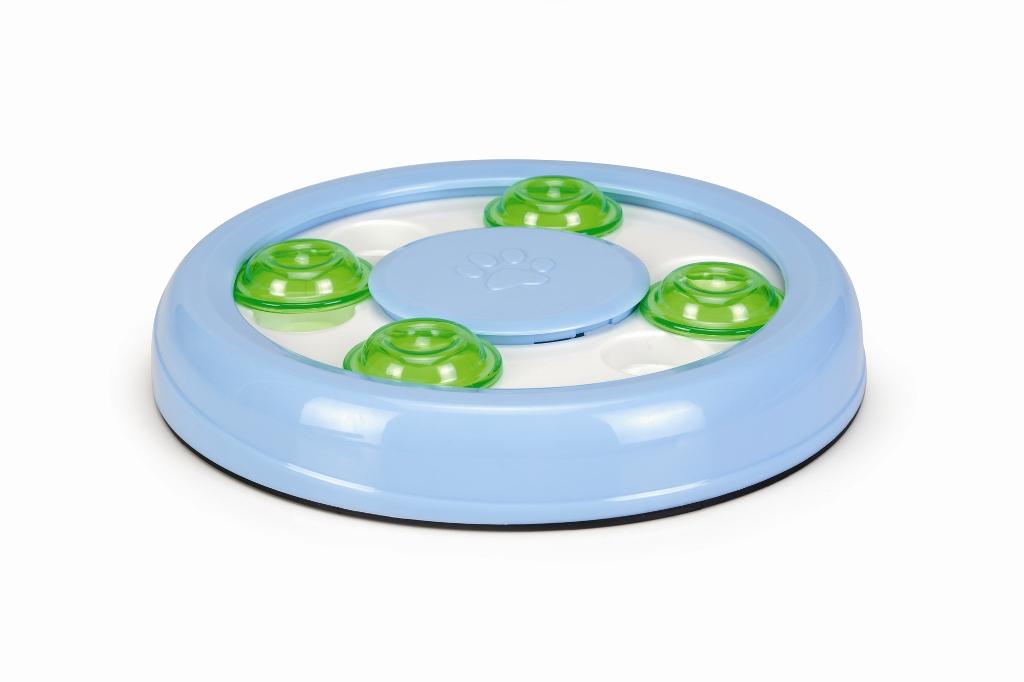 Игрушка-головоломка для кошек Beeztees Найди лакомство, диаметр 22 см игрушка головоломка для собак i p t s fanatic диаметр 22 см