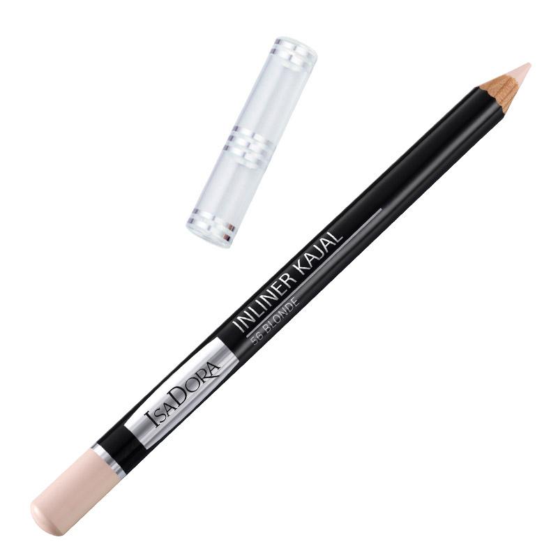 Контурный карандаш для глаз Isa Dora Inliner Kajal, тон №56, цвет: блонд, 1,3 г компактная пудра isa dora ultra cover тон 21 цвет бежевый камуфляж 10 г