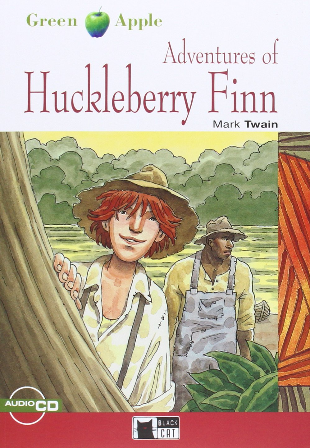 Adventures of Huckleberry Finn (The) Bk +D