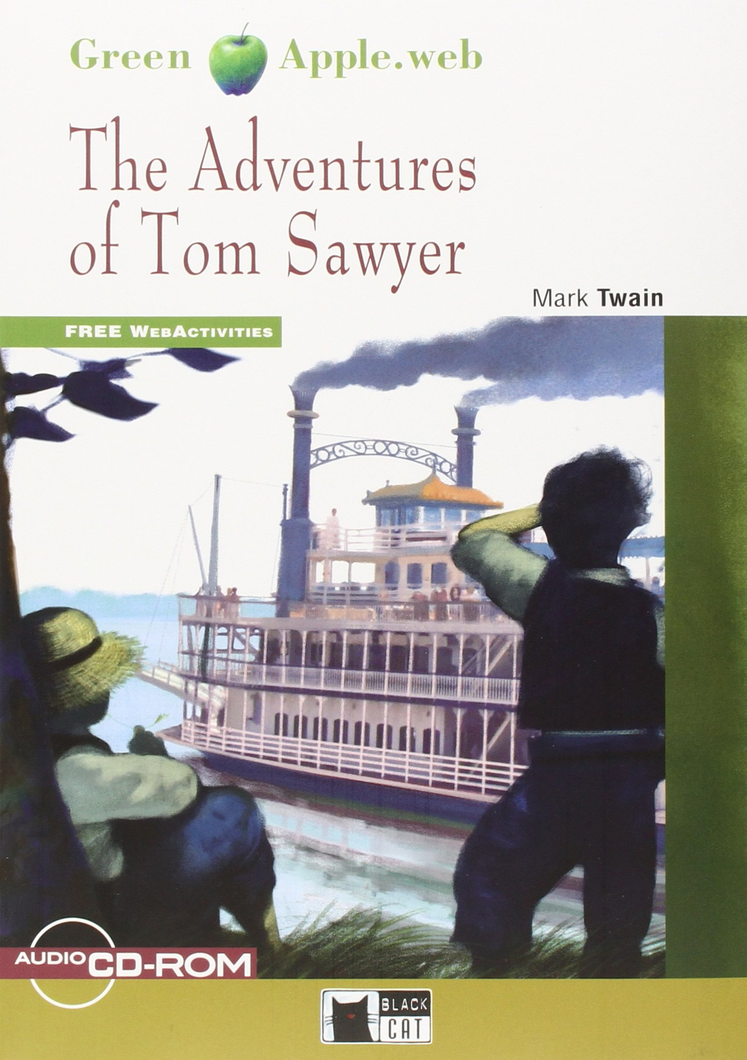 The Adventures of Tom Sawyer (+ CD-ROM) твен м the adventures of tom sawyer приключения тома сойера