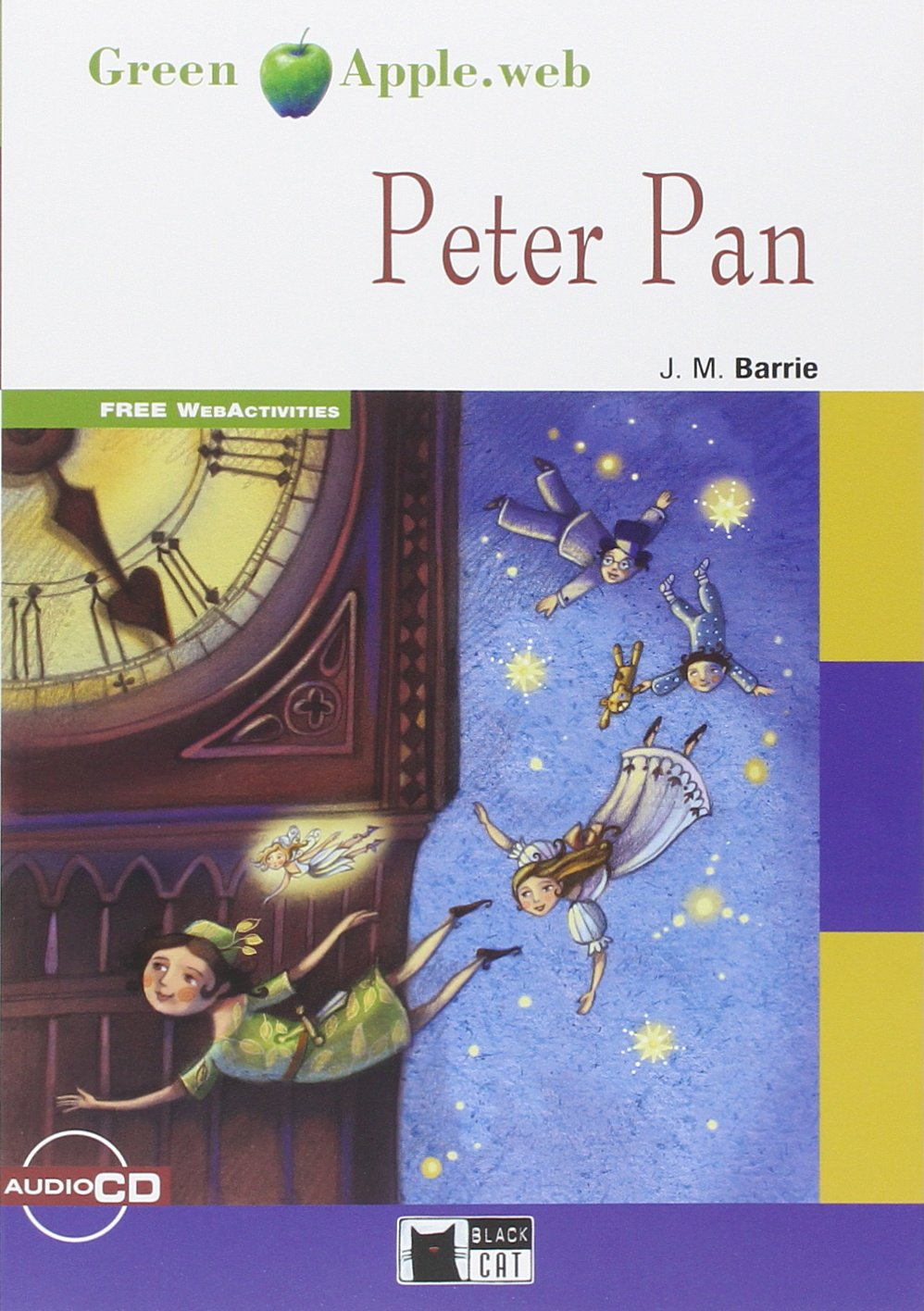 Peter Pan + Cd New Edition touchstone teacher s edition 4 with audio cd