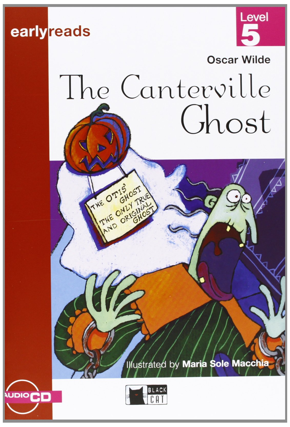 The Canterville Ghost: Level 5 (+ CD) jane eyre level 5 cd