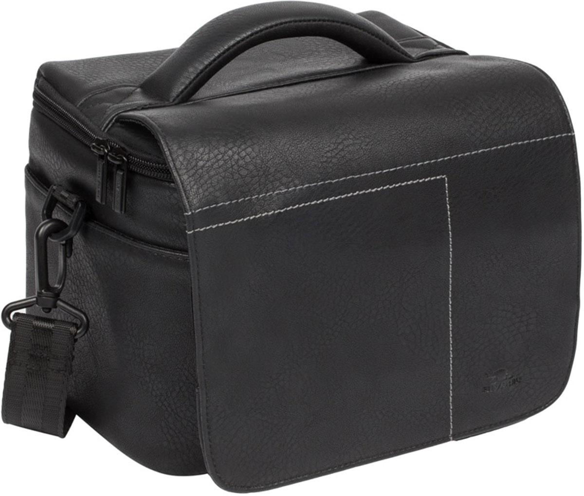 Riva 7613 SLR Case, Black сумка для зеркальной фотокамеры - Сумки и рюкзаки