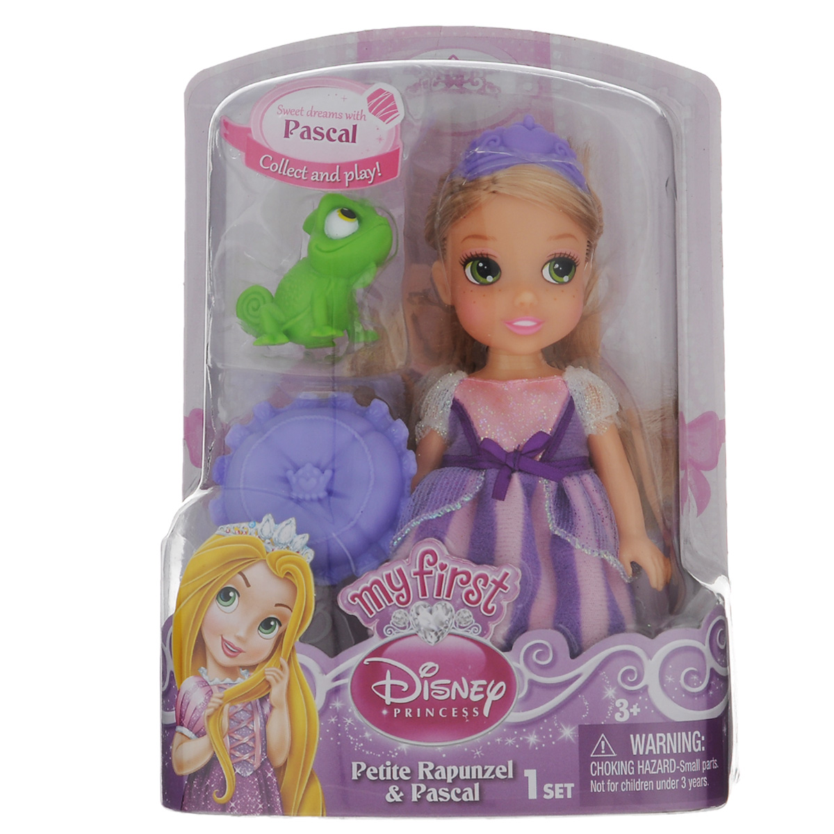 Disney Princess Игровой набор Petite Rapunzel & Pascal disney princess train case